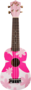 Pink Flower Ukelele